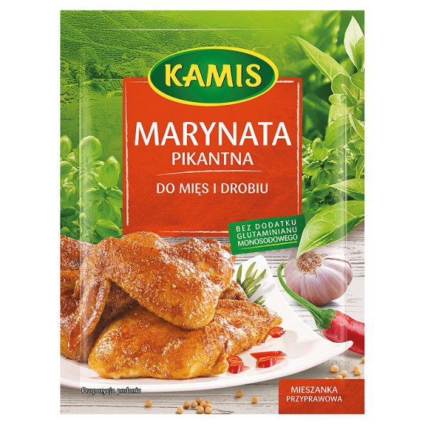 Marynata pikantna do mięs i drobiu Kamis