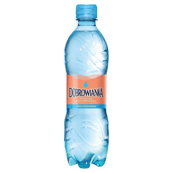 Woda Dobrowianka lekko gazowana/0,5l
