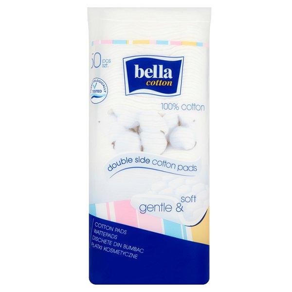 Płatki kosmetyczne Bella kwadratowe 50szt.