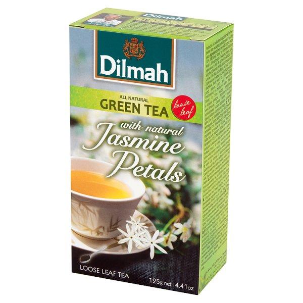 Dilmah Zielona herbata z kwiatami jaśminu 125 g