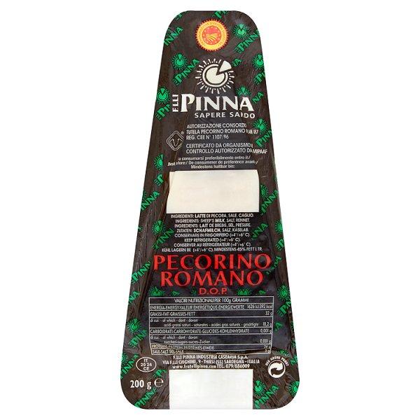F.lli Pinna Pecorino Romano DOP Ser włoski z mleka owczego 200 g