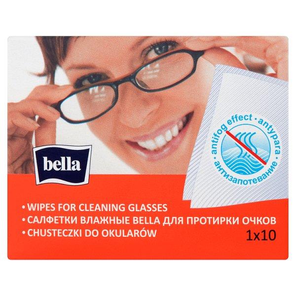 Bella Chusteczki do okularów 10 sztuk