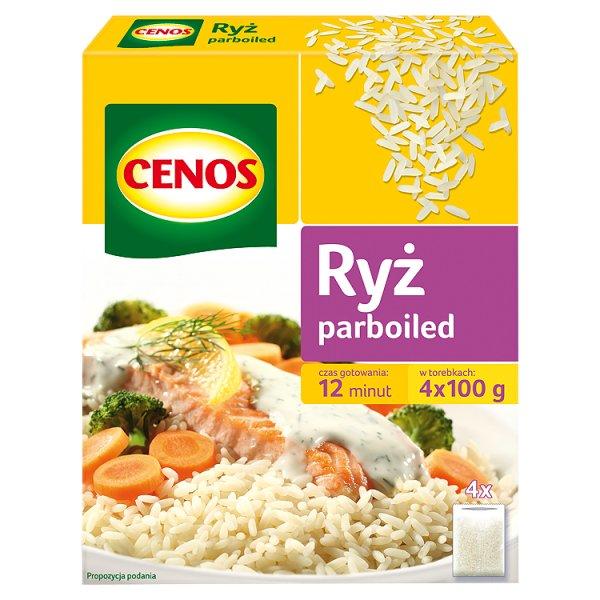 Cenos Ryż parboiled 400 g (4 torebki)