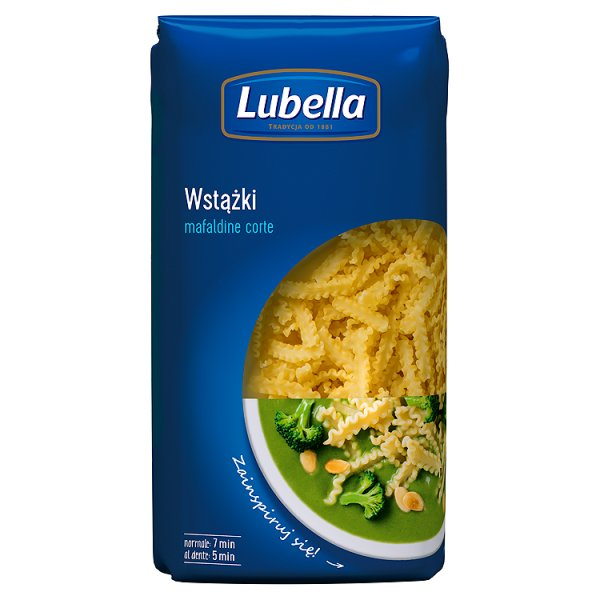 Lubella Mafaldine Corte Makaron Wstążki cięte 500 g