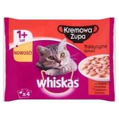Whiskas tradycyjne krem zupa 4*85
