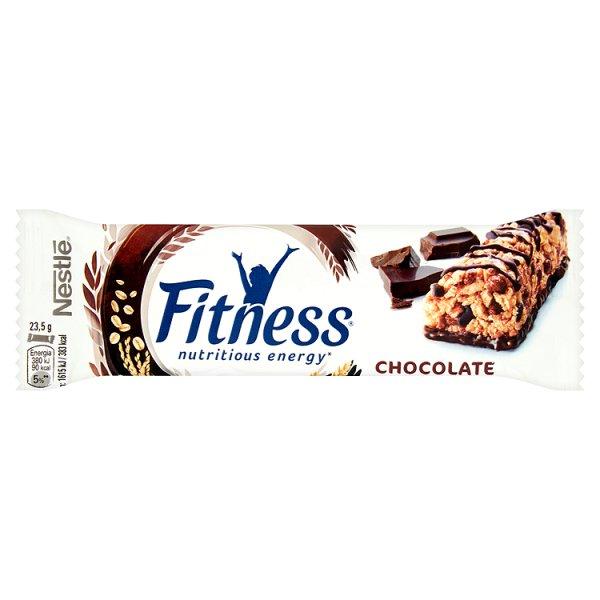 Baton Fitness z czekoladą