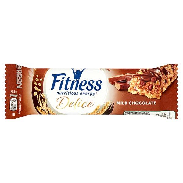 Baton Delice fit czekoladowy