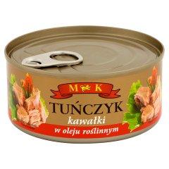 MK Tuńczyk kawałki w oleju roślinnym 170 g
