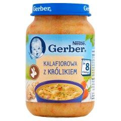 Zupka Gerber Domowa kalafiorowa z królikiem