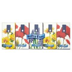 Chusteczki Regina soft&easy kwiaty/10*10szt