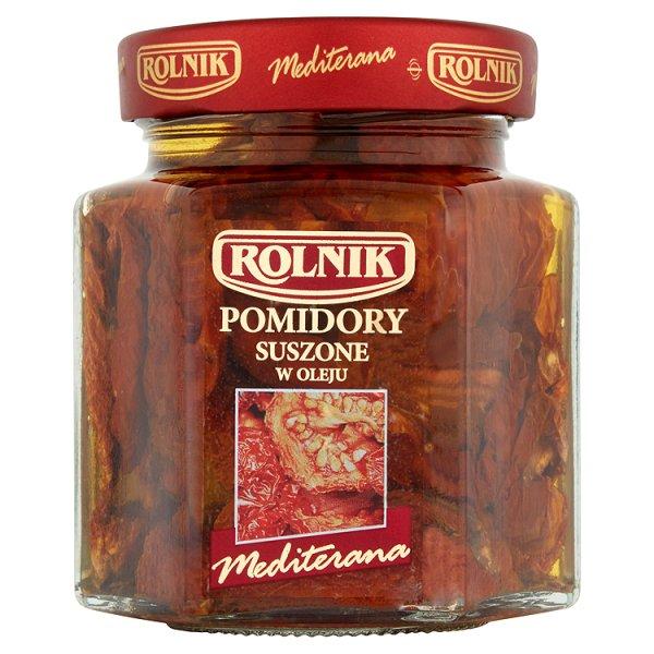Rolnik Mediterana Pomidory suszone w oleju 280 g