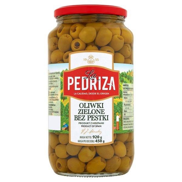 La Pedriza Oliwki zielone bez pestki 920 g
