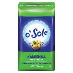 Sól kamienna jodowana spożywcza o'Sole