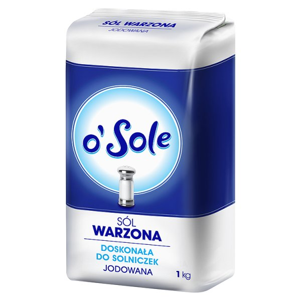 Sól warzona jodowana o'Sole