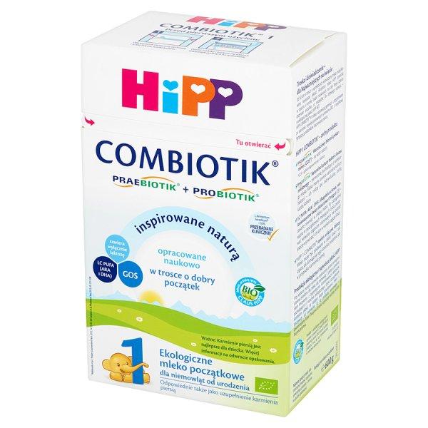 Mleko Hipp 1 Bio Combiotik początek