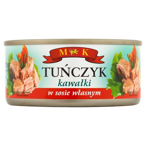 MK Tuńczyk kawałki w sosie własnym 170 g