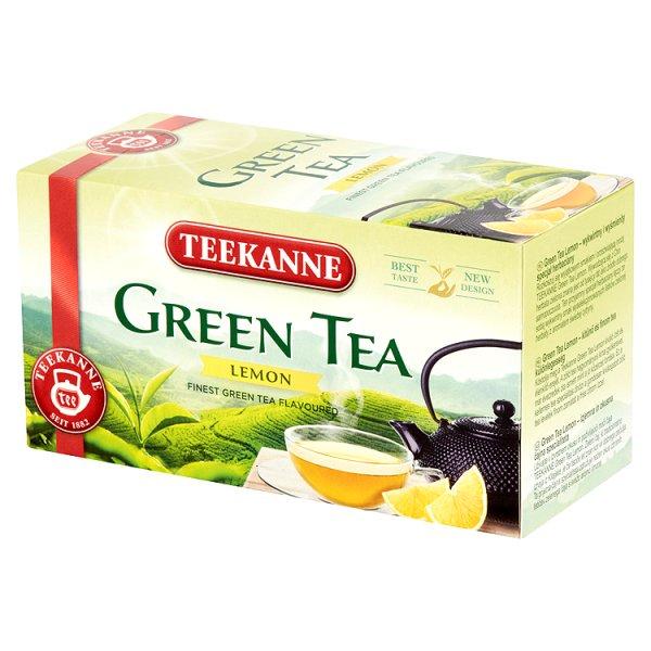 Herbata Teekanne zielona, cytrynowa