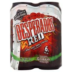 Piwo desperados puszka red