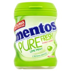 Guma Mentos Pure lime mint