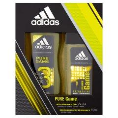 Zestaw świąteczny adidas pure game dns 75ml + sg 250ml