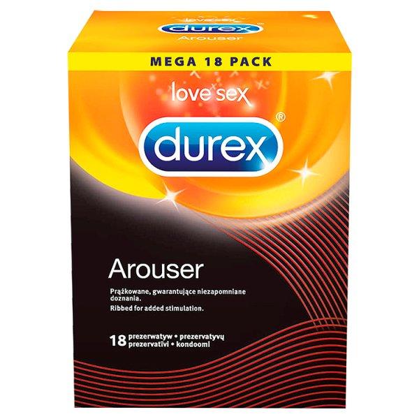 Durex prezerwatywy arouser