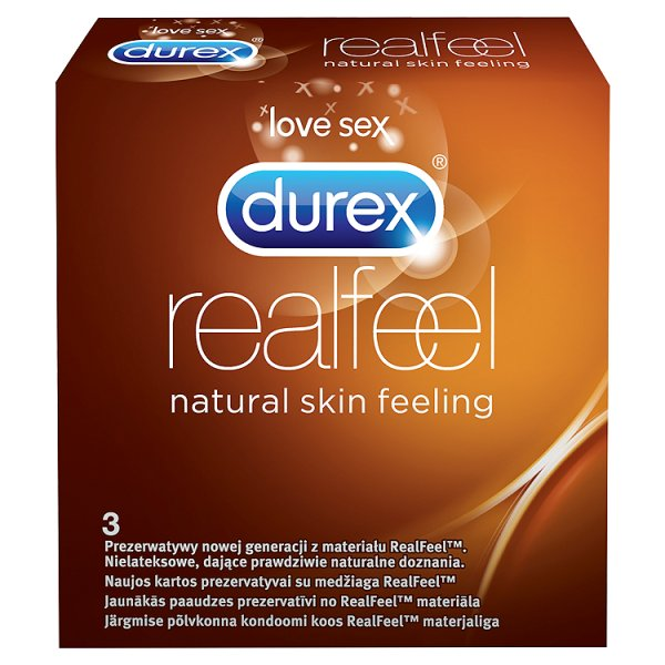 Prezerwatywy Durex Real Feel