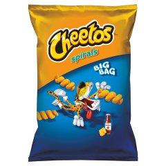 Chrupki Cheetos spirals ser ketchup