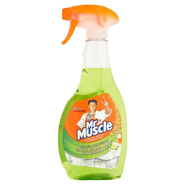 Mr muscle do szyb limonka