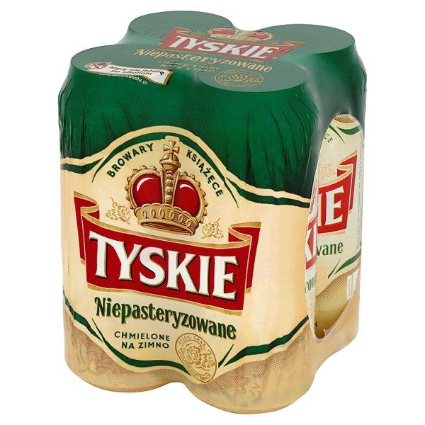 Piwo tyskie niepasteryzowane puszka