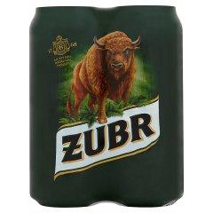 Piwo żubr puszka 4*0,5l
