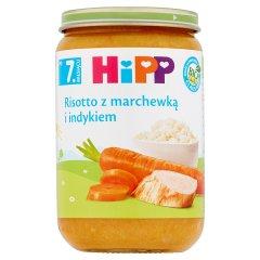 Danie Hipp risotto z marchewką i indykiem