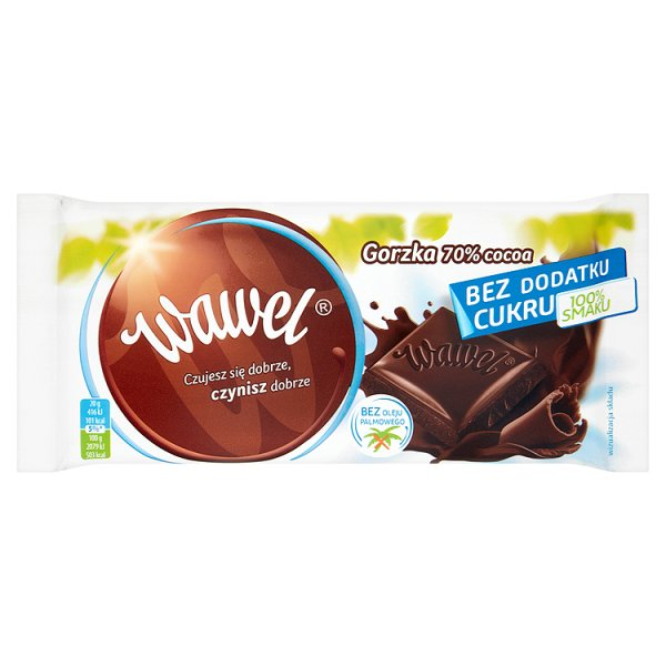 Czekolada Wawel Lekka Gorzka bez cukru