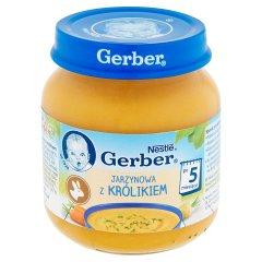 Zupka Gerber jarzynowa z królikiem