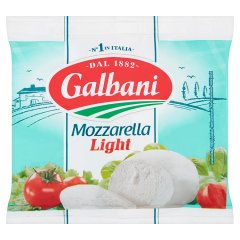 Ser Mozzarella light Galbani