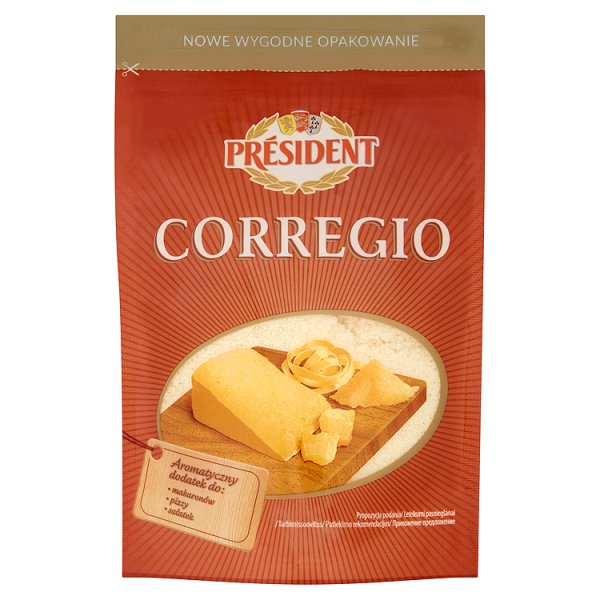 Ser Corregio tarty Président