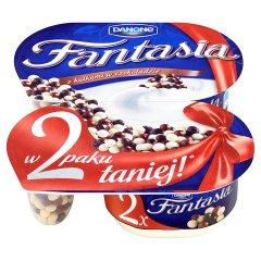 Jogurt Fantasia 2-pack kulki czekoladowe