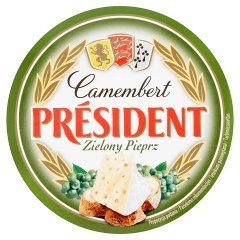 Ser Camembert Zielony Pieprz Président