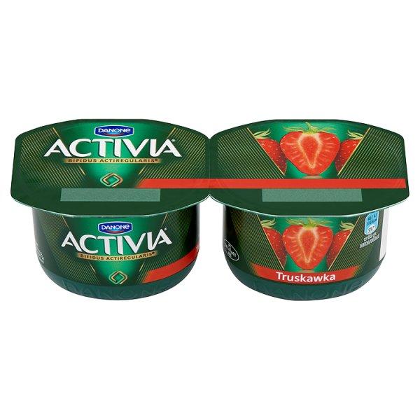 Jogurt Activia truskawka 2*120g