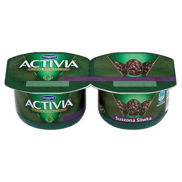 Jogurt Activia śliwka suszona 2*120g