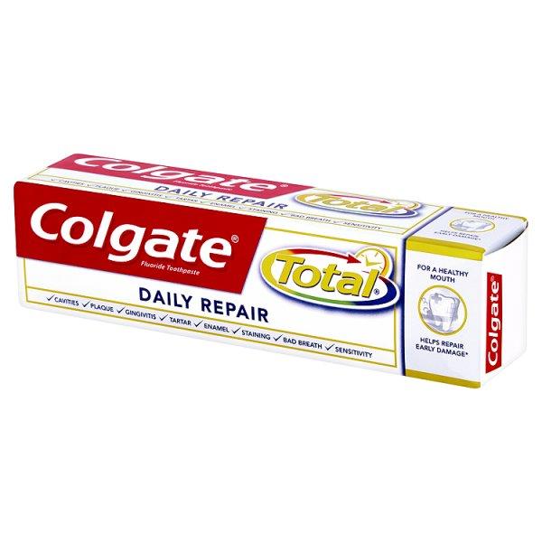 Pasta do zębów colgate total codzienna odbudowa