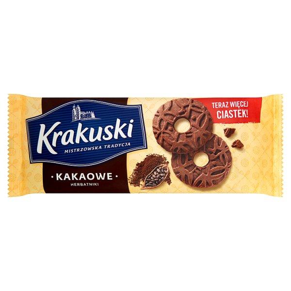 Krakuski Kakaowe Herbatniki 163 g