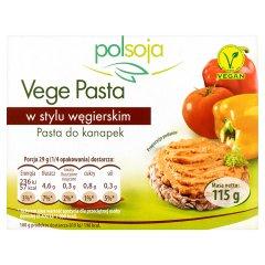 Pasta Vege węgierska