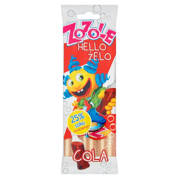 Żelki Zozole cola sticks