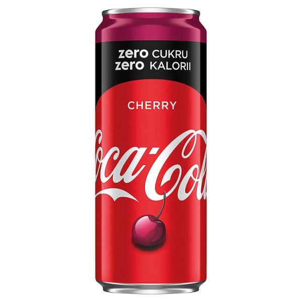 Coca-Cola Cherry Coke puszka 0,33l