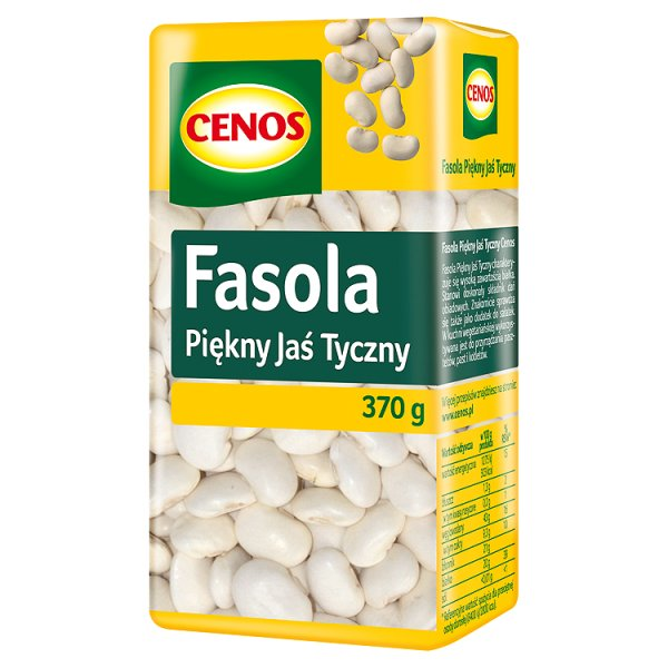 Cenos Fasola Piękny Jaś Tyczny 370 g