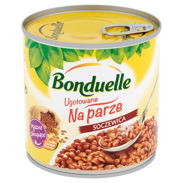 Soczewica gotowana na parze Bonduelle