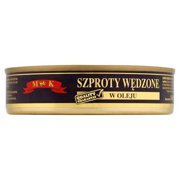 MK Szproty wędzone w oleju 160 g