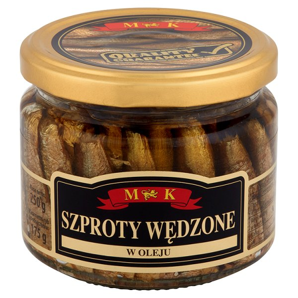 MK Szproty wędzone w oleju 250 g