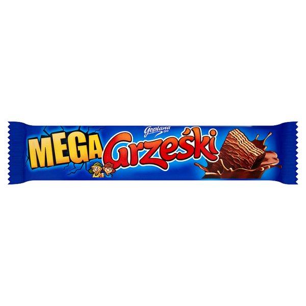 Wafel Grześki mega kakaowe w czekoladzie
