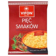 Zupa Vifon pięć smaków błyskawiczna z makaronem
